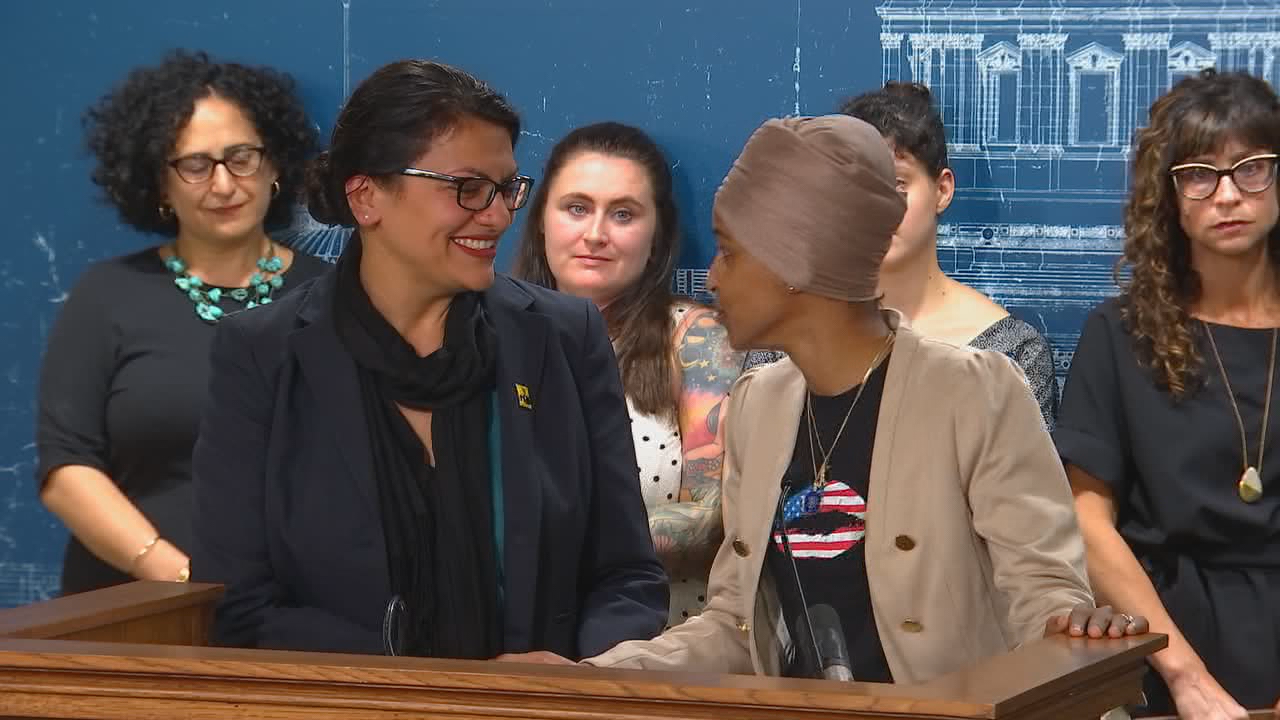 Reps. Omar, Tlaib criticize Israel's democracy and its 'occupation' of Palestine